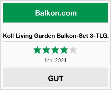 Koll Living Garden Balkon-Set 3-TLG. Test