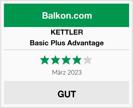 KETTLER Basic Plus Advantage Test