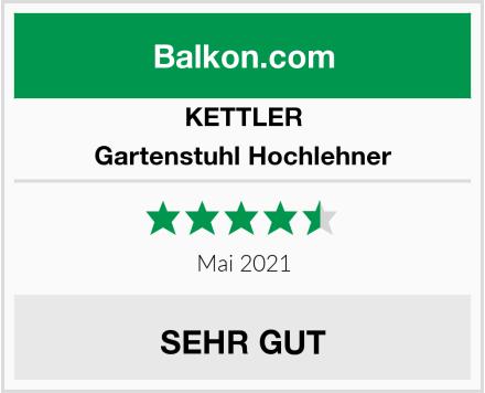 KETTLER Gartenstuhl Hochlehner Test