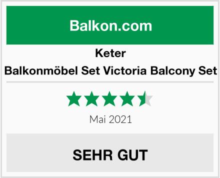 Keter Balkonmöbel Set Victoria Balcony Set Test