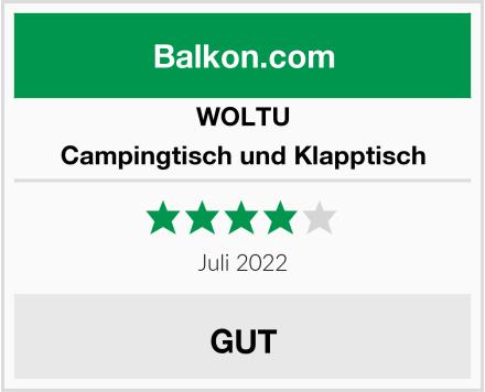 WOLTU Campingtisch und Klapptisch Test