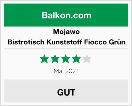 Mojawo Bistrotisch Kunststoff Fiocco Grün Test