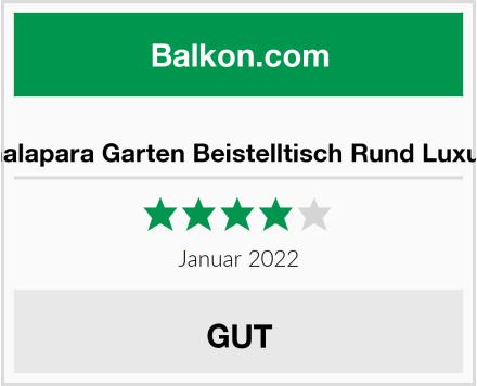Galapara Garten Beistelltisch Rund Luxus Test
