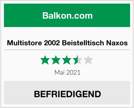 Multistore 2002 Beistelltisch Naxos Test