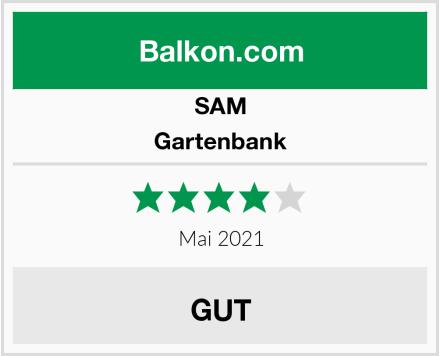 SAM Gartenbank Test