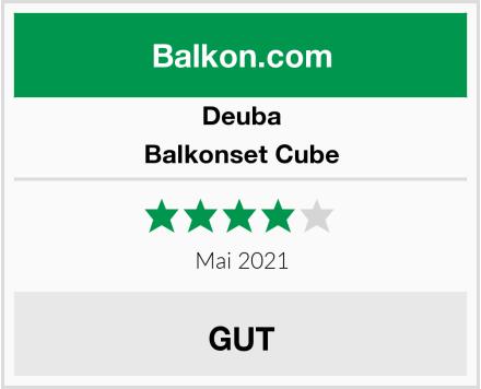 Deuba Balkonset Cube Test