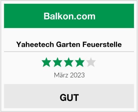 Yaheetech Garten Feuerstelle Test