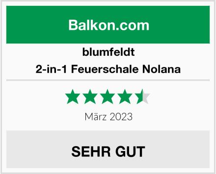 blumfeldt 2-in-1 Feuerschale Nolana Test
