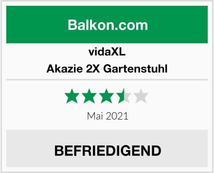 vidaXL Akazie 2X Gartenstuhl Test