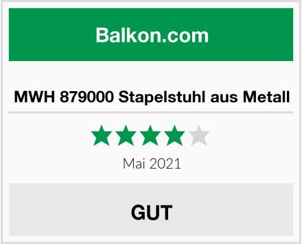 MWH 879000 Stapelstuhl aus Metall Test
