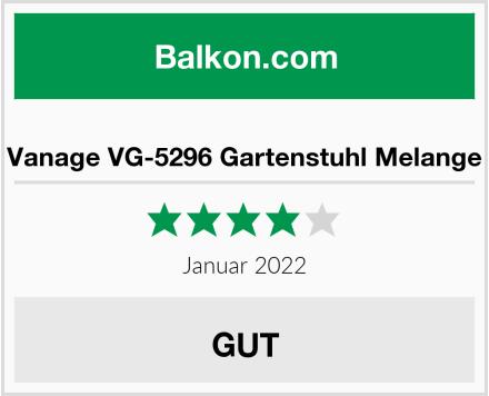 Vanage VG-5296 Gartenstuhl Melange Test