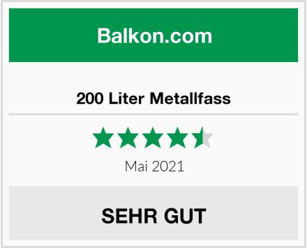 200 Liter Metallfass Test