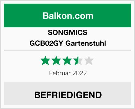SONGMICS GCB02GY Gartenstuhl Test