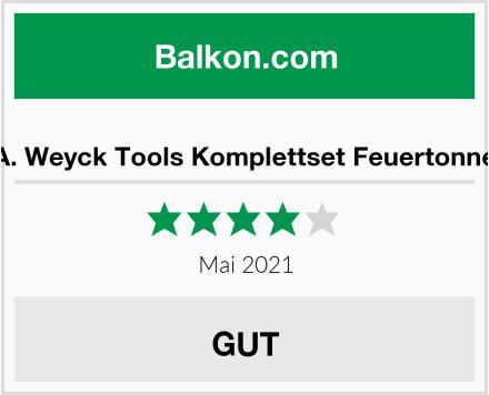 A. Weyck Tools Komplettset Feuertonne Test
