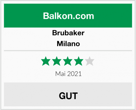 Brubaker Milano Test