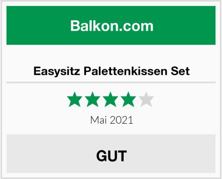 Easysitz Palettenkissen Set Test