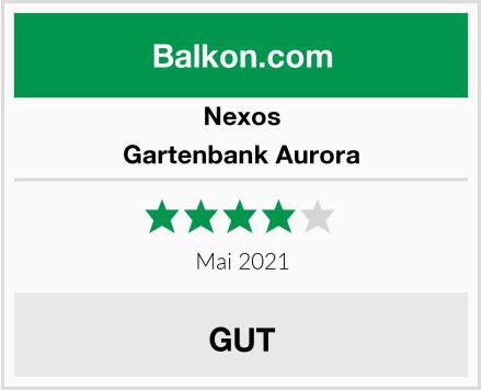 Nexos Gartenbank Aurora Test
