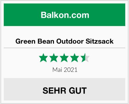 Green Bean Outdoor Sitzsack Test