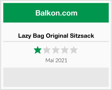 Lazy Bag Original Sitzsack Test
