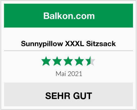 Sunnypillow XXXL Sitzsack Test