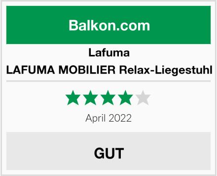 Lafuma LAFUMA MOBILIER Relax-Liegestuhl Test