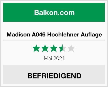 Madison A046 Hochlehner Auflage Test