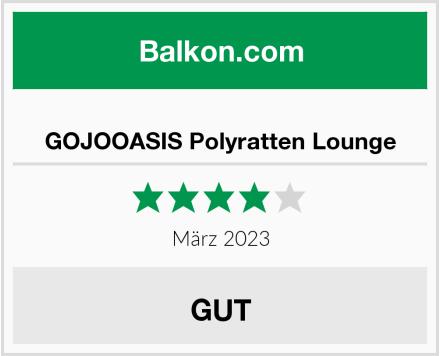 GOJOOASIS Polyratten Lounge Test