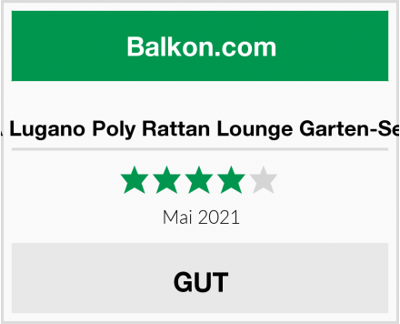 SVITA Lugano Poly Rattan Lounge Garten-Set XXL Test