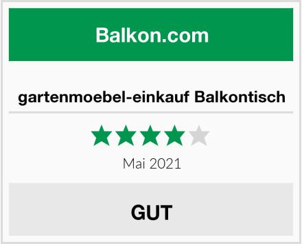 gartenmoebel-einkauf Balkontisch Test
