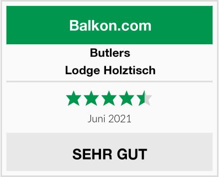 Butlers Lodge Holztisch Test
