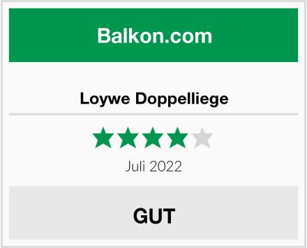 Loywe Doppelliege Test