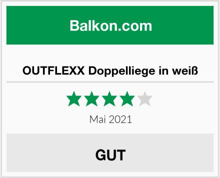 OUTFLEXX Doppelliege in weiß Test