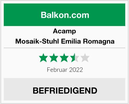 Acamp Mosaik-Stuhl Emilia Romagna Test