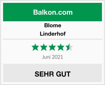 Blome Linderhof Test