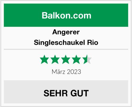 Angerer Singleschaukel Rio Test
