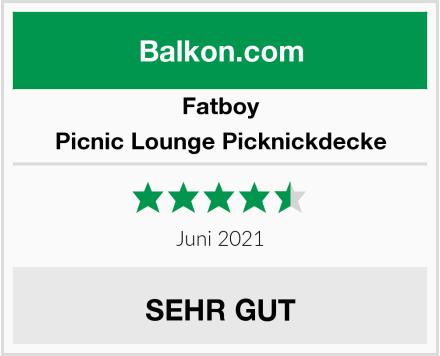 Fatboy Picnic Lounge Picknickdecke Test