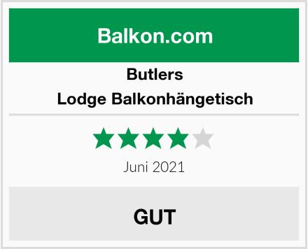 Butlers Lodge Balkonhängetisch Test