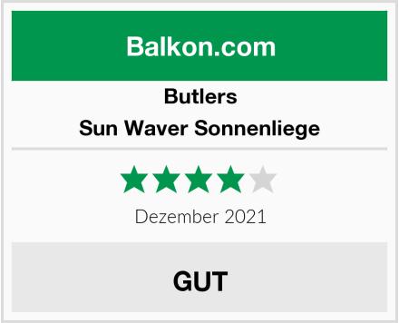 Butlers Sun Waver Sonnenliege Test