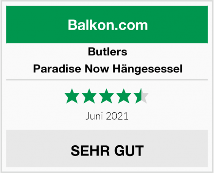 Butlers Paradise Now Hängesessel Test