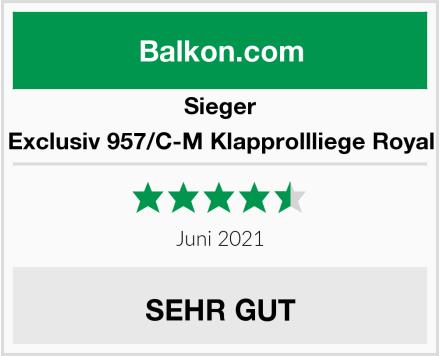 Sieger Exclusiv 957/C-M Klapprollliege Royal Test