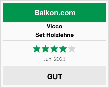 Vicco Set Holzlehne Test