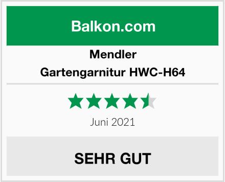 Mendler Gartengarnitur HWC-H64 Test