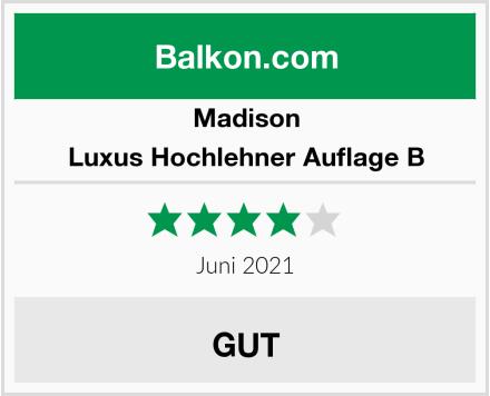Madison Luxus Hochlehner Auflage B Test
