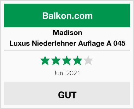 Madison Luxus Niederlehner Auflage A 045 Test