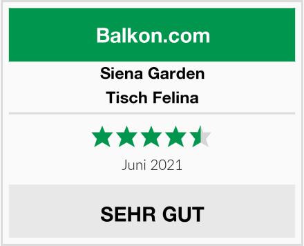 Siena Garden Tisch Felina Test