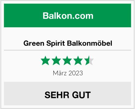 Green Spirit Balkonmöbel Test