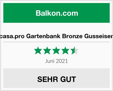 casa.pro Gartenbank Bronze Gusseisen Test