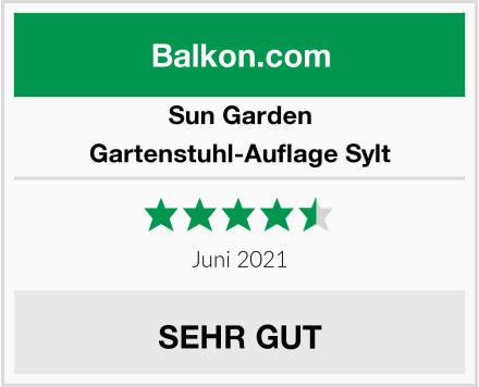 Sun Garden Gartenstuhl-Auflage Sylt Test