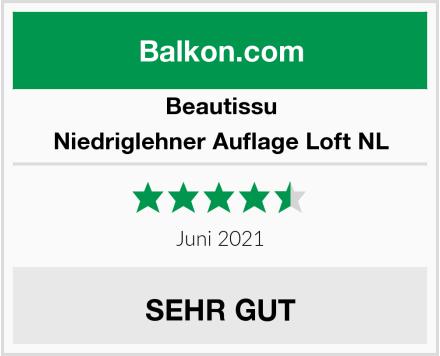 Beautissu Niedriglehner Auflage Loft NL Test