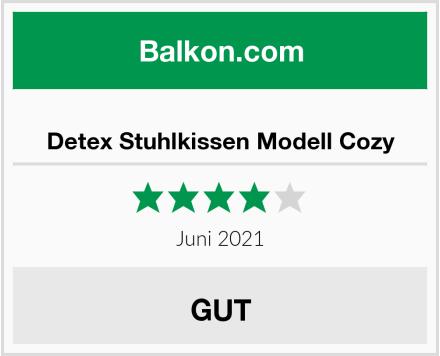 Detex Stuhlkissen Modell Cozy Test